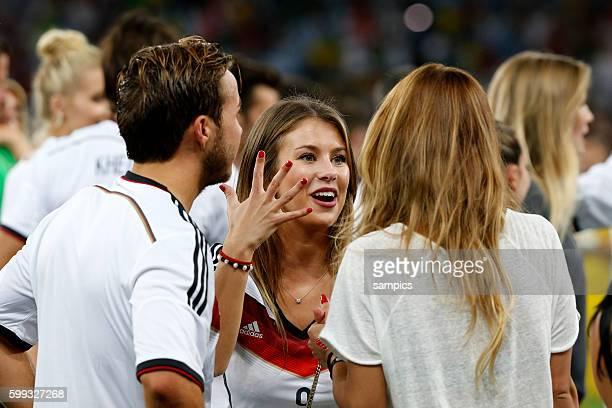 freundin von Andre Schürle Schuerle Deutschland Fussball Weltmeister Deutschland Weltmeisterschafts Finale Deutschland Argentinien 10 n Verlängerung...