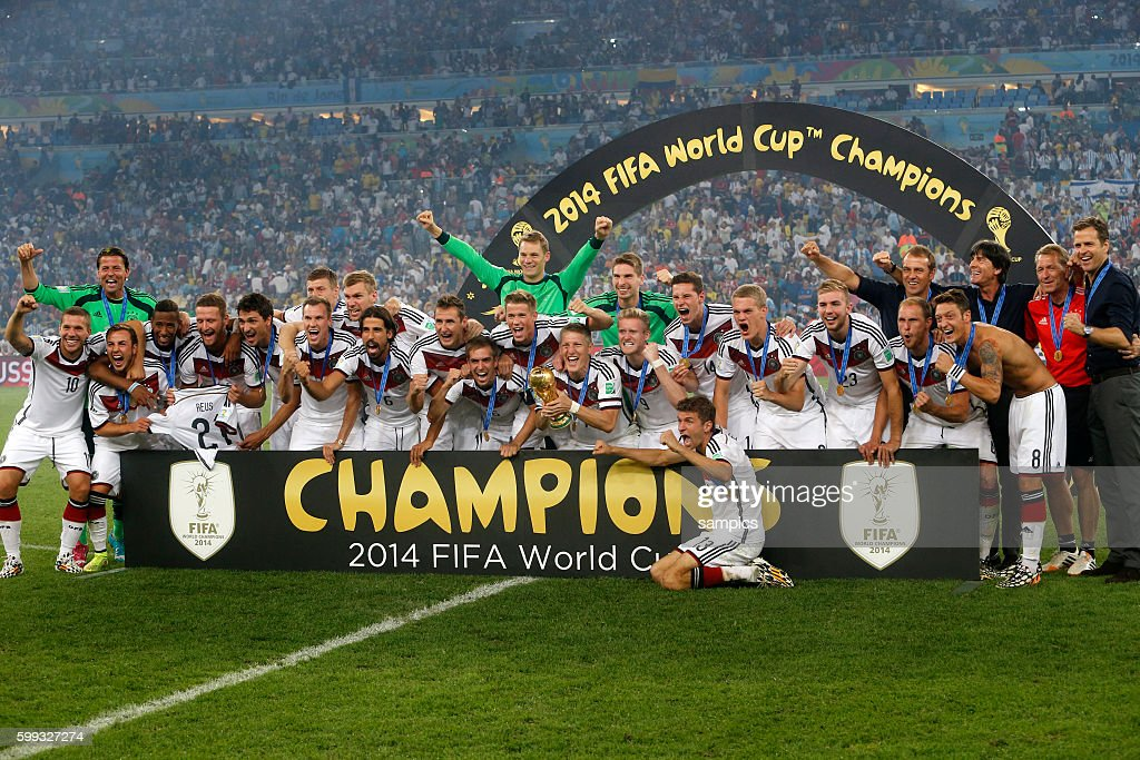 Soccer - Germany vs. Argentina - FIFA World Cup 2014 Finals : News Photo