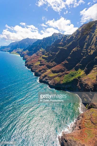 na pali coast hawaii - na pali stock photos and pictures