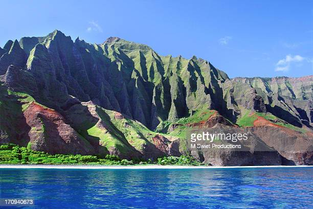 na pali coast - na pali coast stock pictures, royalty-free photos & images