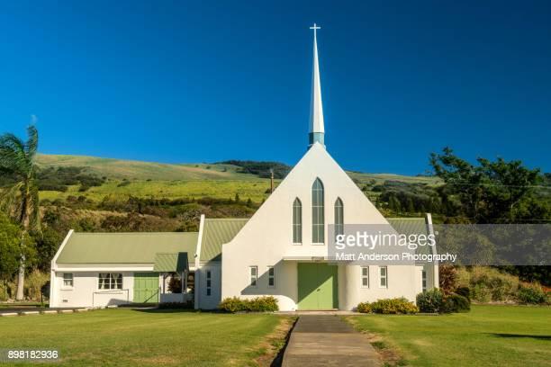 naalehu united methodist church - methodist church stockfoto's en -beelden