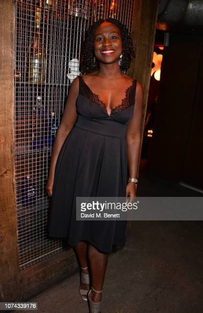Naana AgyeiAmpadu attends the press night after party for 'Caroline Or Change' at the Foundation Bar on December 17 2018 in London England