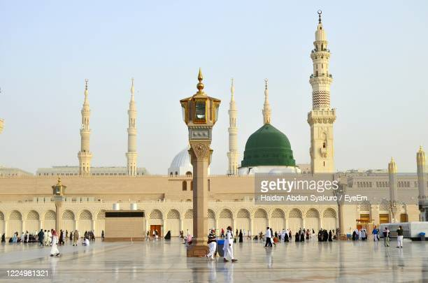 nabawi mosque, madinah al munawwarah - al madinah stock pictures, royalty-free photos & images
