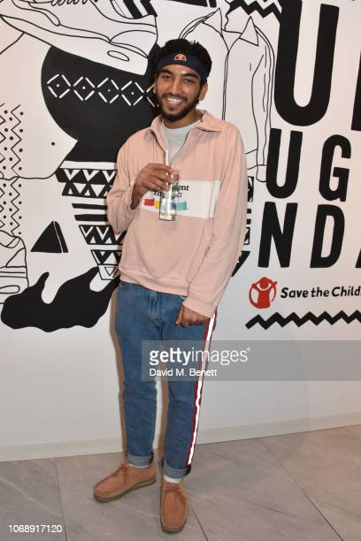 Nabhaan Rizwan attends the opening of 'The Drop' the UK's first streetwear rental space with all profits going towards Save the Children's Big Up...