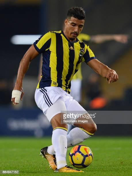 Nabil Dirar of Fenerbahce during the Turkish Super lig match between Fenerbahce v Kasmpasaspor at the #350ükrü Saraco#287lu stadion on December 3...