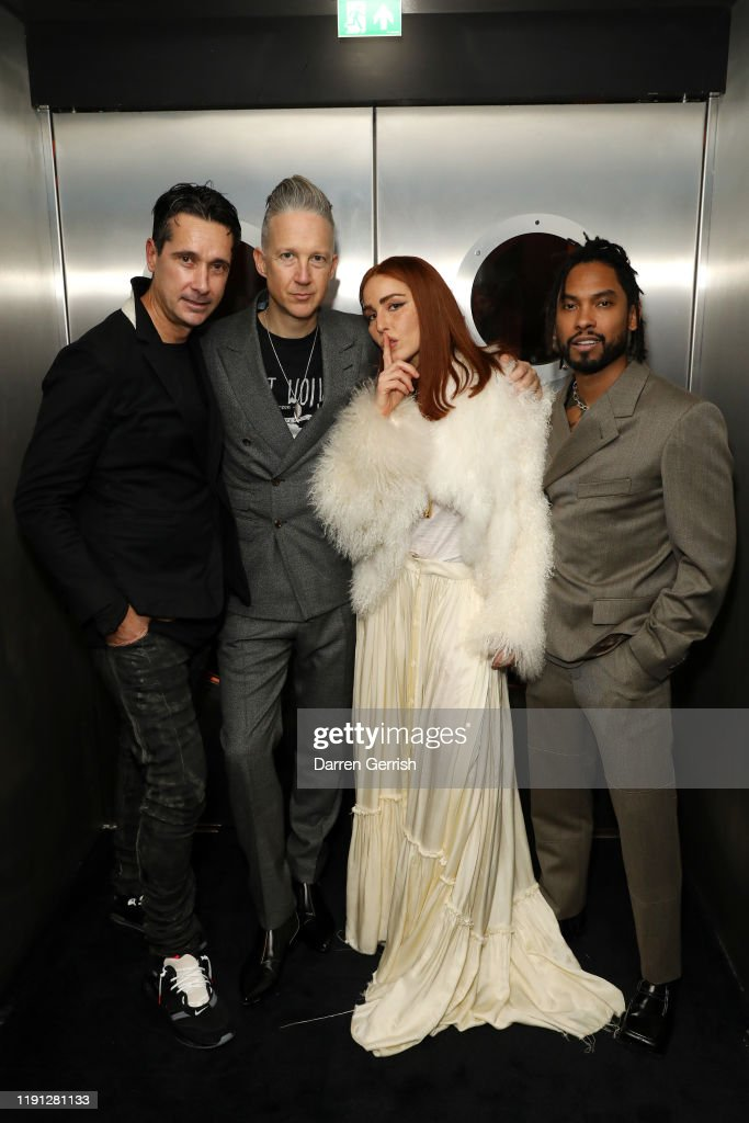 Cocktail Reception Hosted By Noomi Rapace, Miguel, Nabil Elderkin and Jefferson Hack : News Photo
