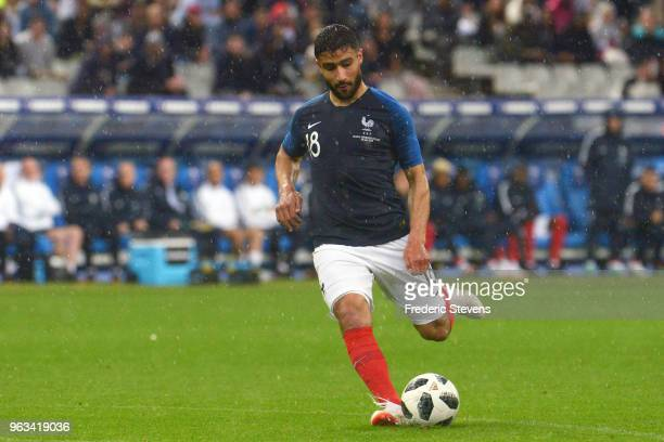 Nabil Fekir forward of France Football team during the friendly match between France and Ireland at Stade de France on May 28 2018 in Paris France...
