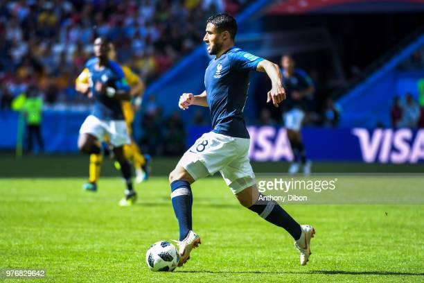 Nabil Fekir of France during the 2018 FIFA World Cup Russia group C match between France and Australia at Kazan Arena on June 16 2018 in Kazan Russia