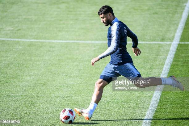 Nabil Fekir of France during the France training session on July 2 2018 in Istra Russia