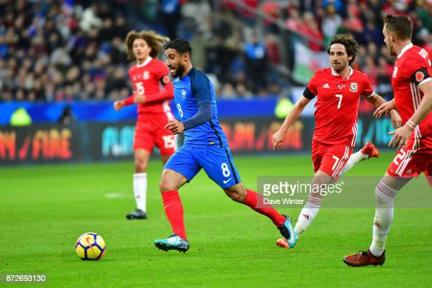 Nabil Fekir of France during the international friendly match between France and Wales at Stade de France on November 10 2017 in Paris France