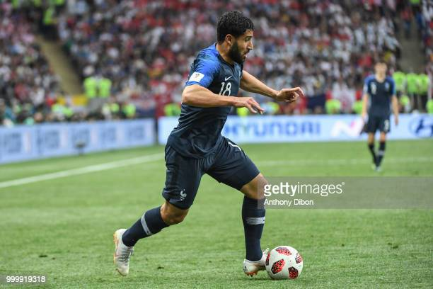 Nabil Fekir of France during the World Cup Final match between France and Croatia at Luzhniki Stadium on July 15 2018 in Moscow Russia
