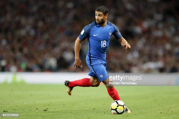 Nabil Fekir of France in action during the FIFA 2018 World Cup Qualifier between France and Luxembourg at Stadium on September 3 2017 in Toulouse...