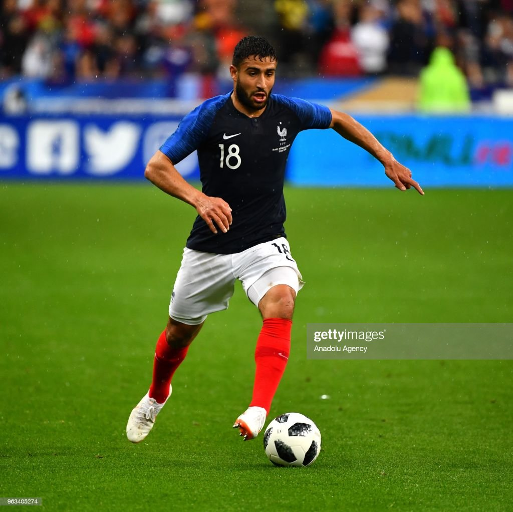 Nabil Fekir of France in action during the friendly football match between France and Ireland at the Stade de France stadium in Saint-Denis, north of Paris, France on May 28, 2018.