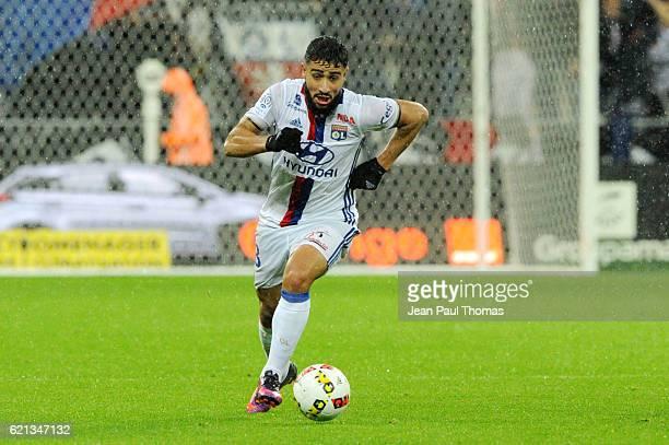 Nabil FEKIR of Lyon during the Ligue 1 match between Olympique Lyonnais and SC Bastia at Stade de Gerland on November 5 2016 in Lyon France
