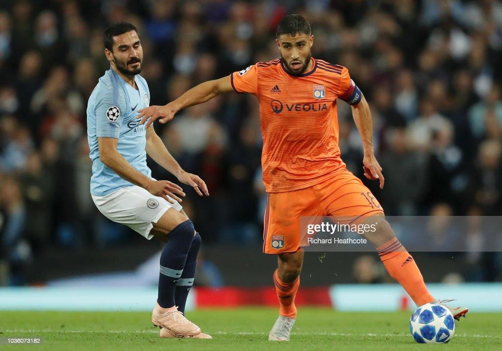 Manchester City v Olympique Lyonnais - UEFA Champions League Group F : Nachrichtenfoto