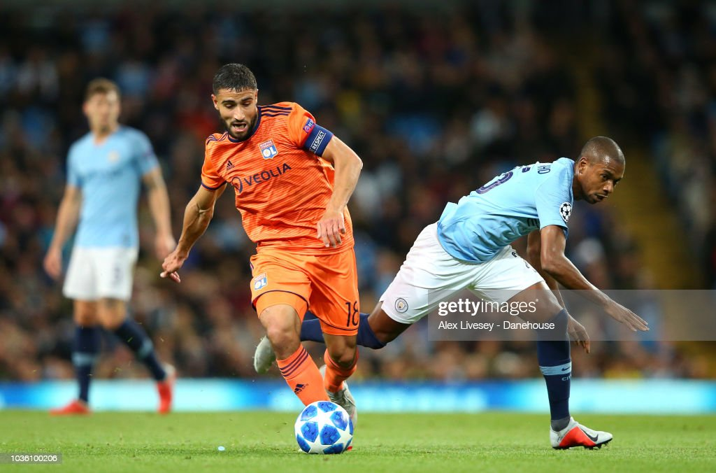 Manchester City v Olympique Lyonnais - UEFA Champions League Group F : News Photo