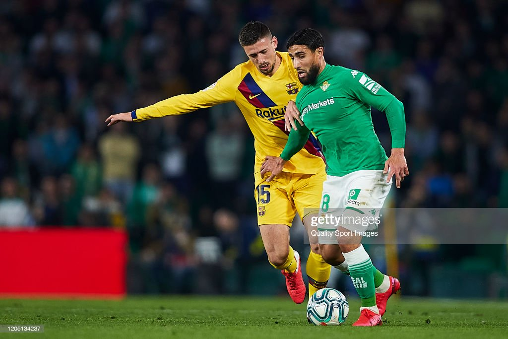 Real Betis Balompie v FC Barcelona  - La Liga : News Photo
