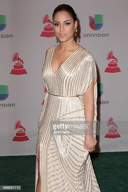 Nabila Tapia attends the 15th annual Latin GRAMMY Awards at the MGM Grand Garden Arena on November 20 2014 in Las Vegas Nevada