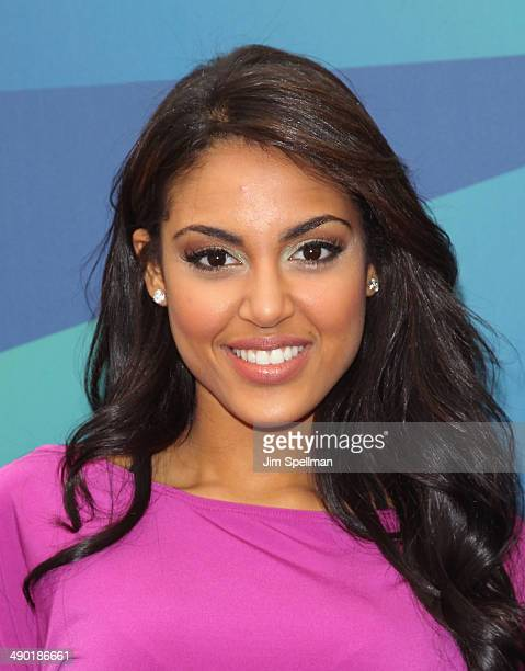 Nabila Tapia attends the 2014 Univision Upfront at Gotham Hall on May 13 2014 in New York City