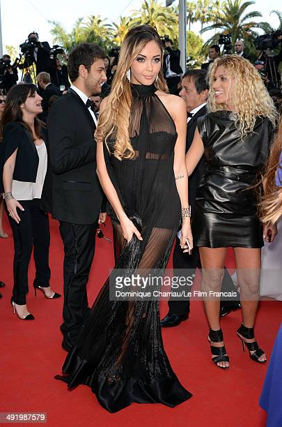 Nabilla Benattia attends The Homesman Premiere at the 67th Annual Cannes Film Festival on May 18 2014 in Cannes France