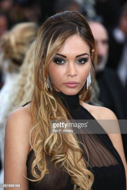 Nabilla Benattia attends The Homesman premiere during the 67th Annual Cannes Film Festival on May 18 2014 in Cannes France