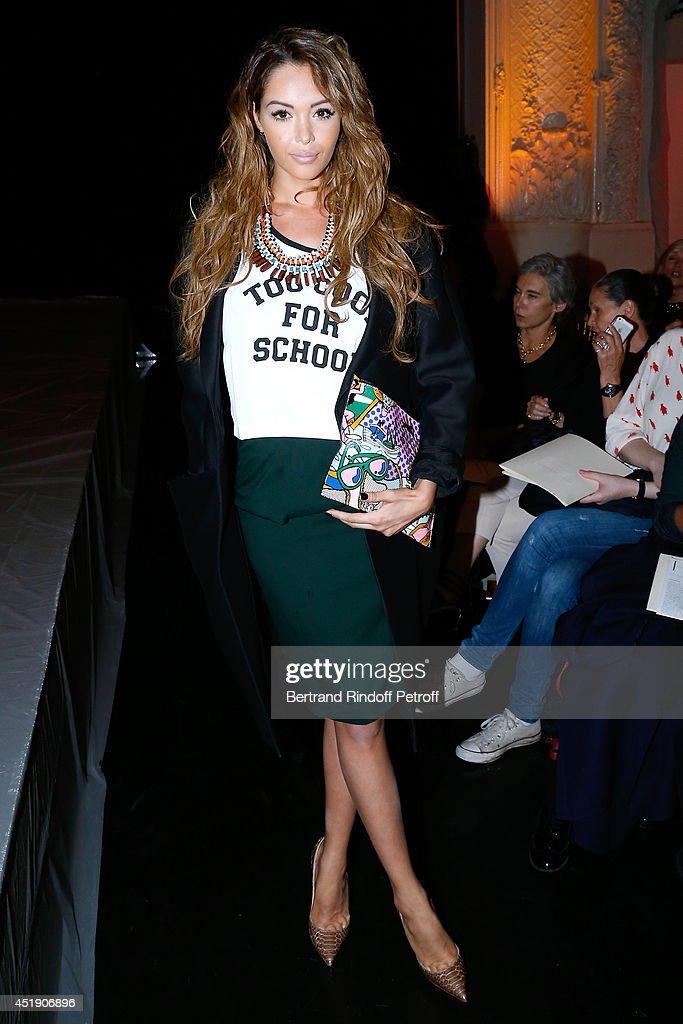 Jean Paul Gaultier  : Front Row - Paris Fashion Week : Haute Couture Fall/Winter 2014-2015 : Photo d'actualité