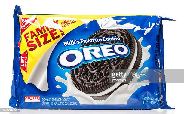 Nabisco OREO Milk's Favorite Cookie family size package