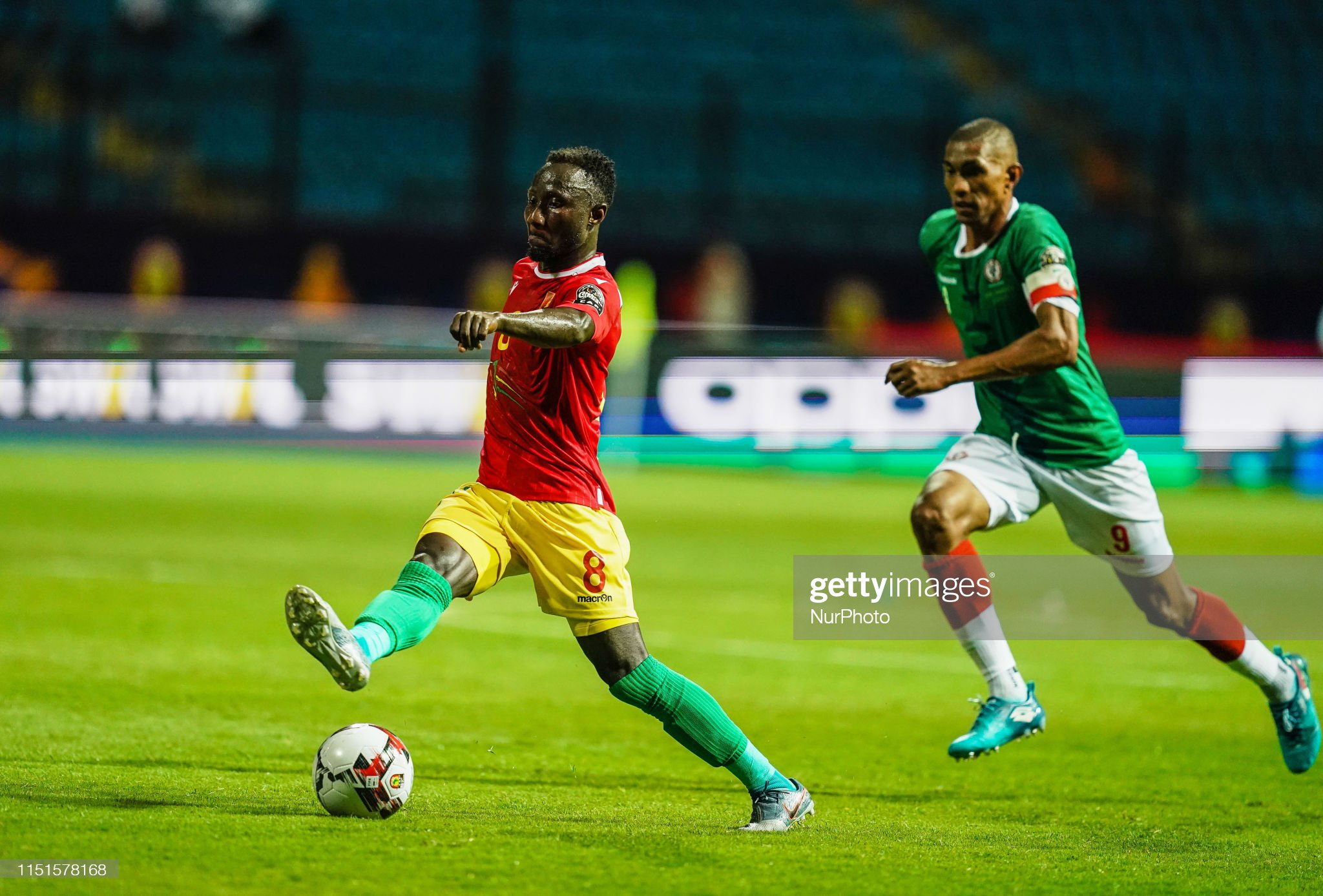 Guinea v Madagscar:Group B - 2019 Africa Cup of Nations : News Photo