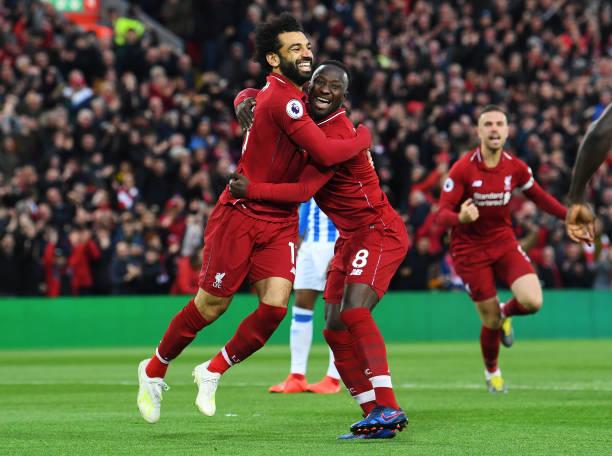 GBR: Liverpool FC v Huddersfield Town - Premier League