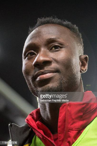 Naby Keita of Liverpool FC looks on during the Premier League match between Crystal Palace and Liverpool FC at Selhurst Park on November 23 2019 in...