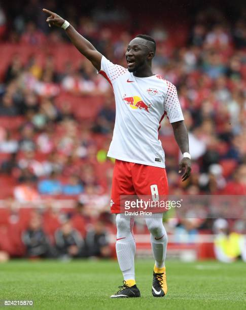 Naby Keita of RB Leipzig during the match RB Leipzig and Sevilla at Emirates Stadium on July 29 2017 in London England