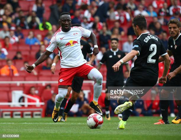 Naby Keita of RB Leipzigof RB Leipzig during Emirates Cup match between RB Leipzig against Sevilla at Emirates Stadium on 29 July 2017