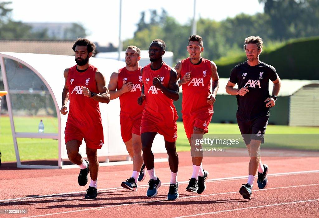 Liverpool Pre-Season Training Camp : News Photo