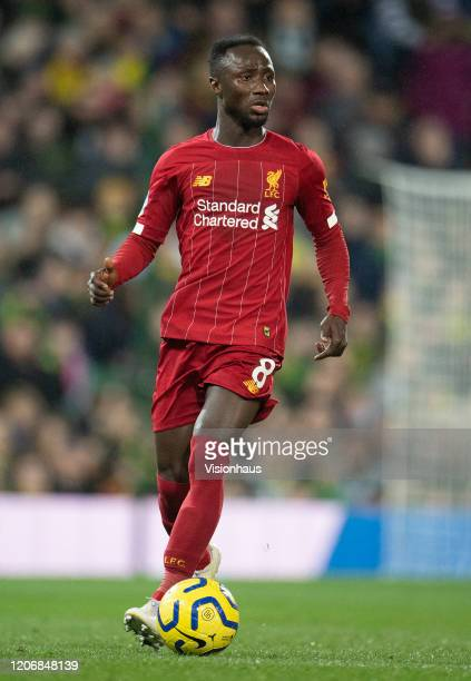 Naby Keïta of Liverpool FC during the Premier League match between Norwich City and Liverpool FC at Carrow Road on February 15 2020 in Norwich United...