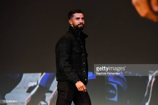 Nacer BOUHANNI during the presentation of the Tour de France 2022 at Palais des Congres on October 14, 2021 in Paris, France.