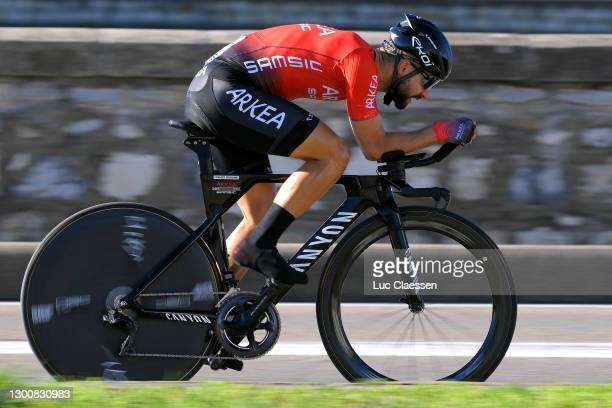 Nacer Bouhanni of France and Team Arkea - Samsic during the 51st Étoile de Bessèges - Tour du Gard 2021, Stage 5 a 10,71km Individual Time Trial from...