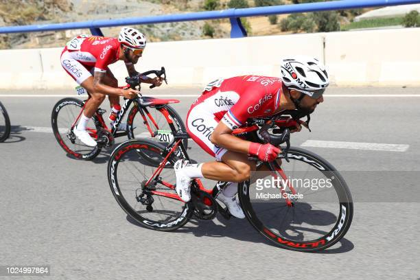 Nacer Bouhanni of France and Team Cofidis / Loic Chetout of France and Team Cofidis / during the 73rd Tour of Spain 2018, Stage 5 a 188,7km stage...