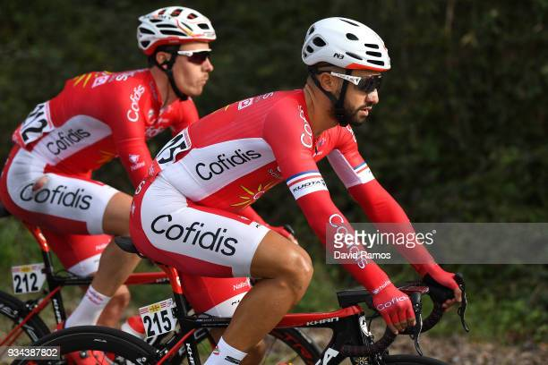 Nacer Bouhanni of France and Team Cofidis Solutions Credits / Mathias Le Turnier of France and Team Cofidis Solutions Credits / during the 98th Volta...