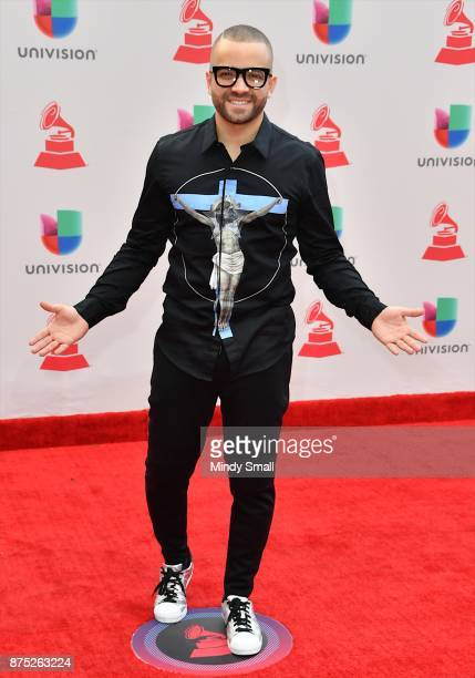 Nacho attends the 18th Annual Latin Grammy Awards at MGM Grand Garden Arena on November 16 2017 in Las Vegas Nevada