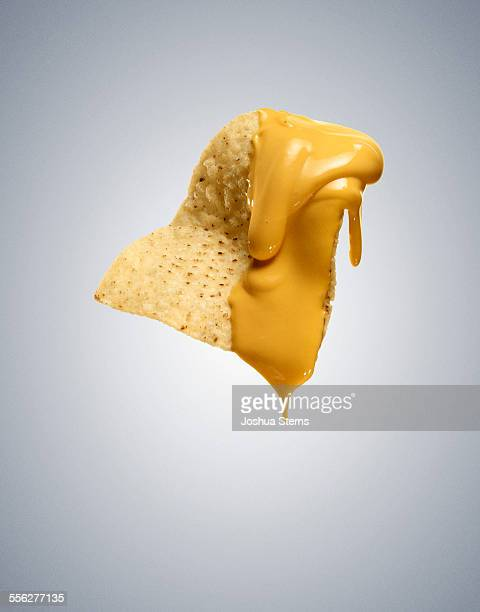nacho cheese chip - cheese stock pictures, royalty-free photos & images