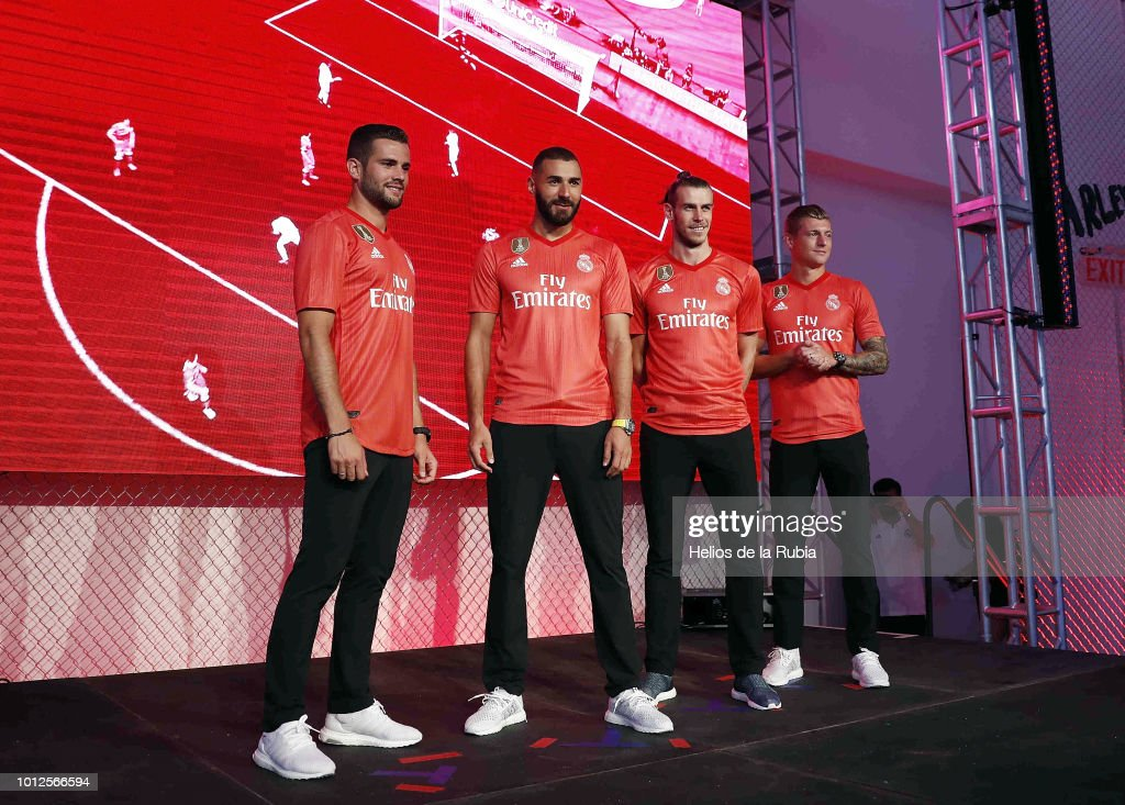 NY: Real Madrid Unveil Their New Third Kit for the 2018/19 Season