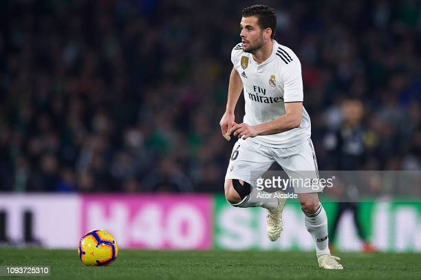 Nacho Fernandez of Real Madrid CF in action during the La Liga match between Real Betis Balompie and Real Madrid CF at Estadio Benito Villamarin on...