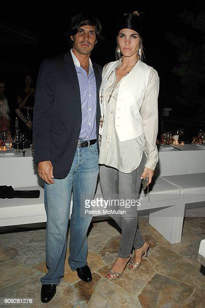 Nacho Figueras and Delfina Figueras attend GUCCI Cristina Chris Cuomo and Stephanie and David Wolkoff's Midsummer Night's Dinner at The Ross School...