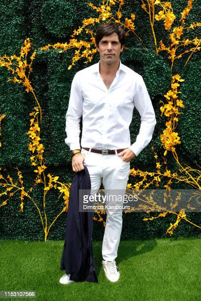 Nacho Figueras attends the 12th Annual Veuve Clicquot Polo Classic at Liberty State Park on June 01 2019 in Jersey City New Jersey