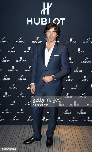 Nacho Figueras attends the Hublot x Veuve Clicquot Polo Classic cocktail event at Hublot Boutique on May 30 2017 in New York City
