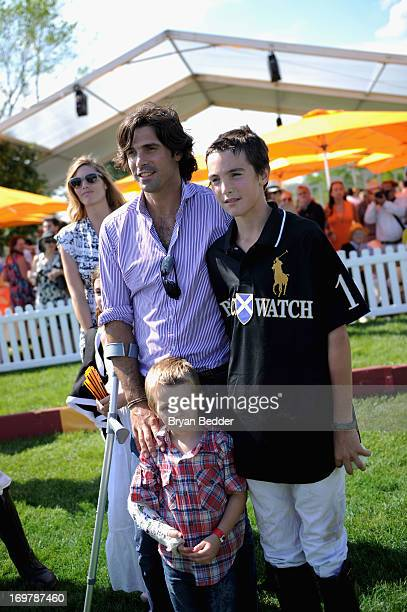 Nacho Figueras Hilario Figueras and Artemio Figueras attend the sixth annual Veuve Clicquot Polo Classic on June 1 2013 in Jersey City