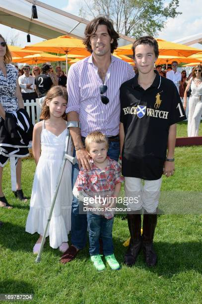 Nacho Figueras Hilario Figueras Aurora Figueras and Artemio Figueras attend the sixth annual Veuve Clicquot Polo Classic on June 1 2013 in Jersey City