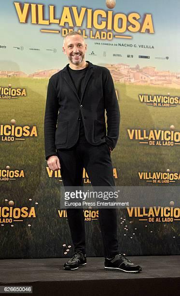 Nacho G Velilla attends 'Villaviciosa de al lado' photocall at Palacio de los Duques hotel on November 29 2016 in Madrid Spain