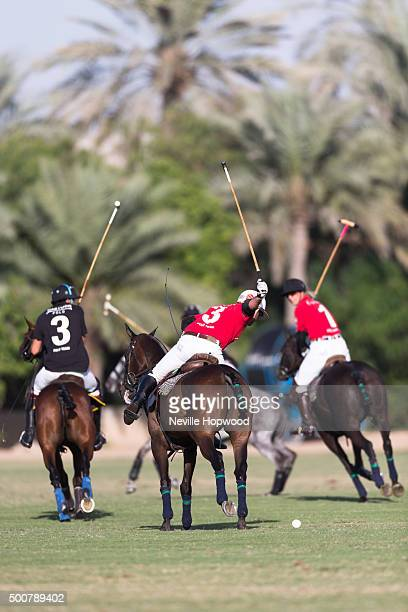 edc42f850ae Nacho Gonzalez of Cartier polo team prepares to hit the ball down field on  the third