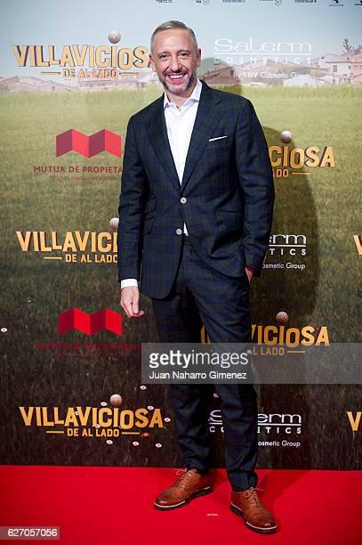 Nacho GVelilla attends 'Villaviciosa De Al Lado' premiere at Capitol Cinema on December 1 2016 in Madrid Spain